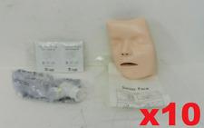 Lot Of 10 Laerdal Little Junior Face Training Manikin