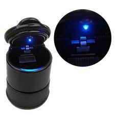 Portable Mini Car LED Light Ashtray Auto Travel Cigarette Ash Holder Cup Black