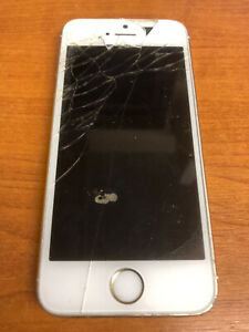 Apple I-Phone 5S A1457 Gold White Silver Mobile Smart Phone Collectable