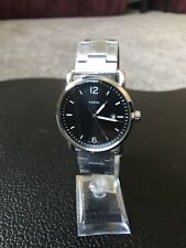 "Fossil FS5391 ""The Commuter"" Date-Display Stainless-Steel Watch - NWT"