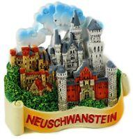 Schloss Neuschwanstein Hohenschwangau Poly Modell Souvenir Germany