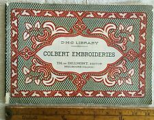 Antique Dolfus Mieg & C0. Colbert Embroideries France DMC Tapestry 1890-1900