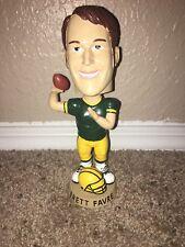 Vintage Green Bay Packers Brett Favre Helmet Base Throwing Ball Pose Bobblehead