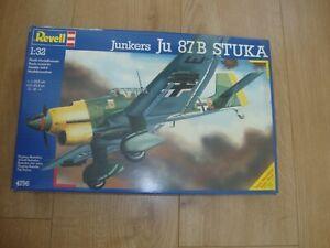 L209 Revell Model Kit 4796 - Junkers Ju 87B Stuka - 1/32