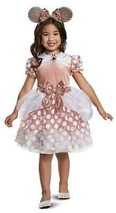 Disney Rose Gold Minnie Classic Toddler size 2T Girls Costume Disguise DEALS