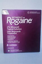 Women's Rogaine  Unscented Hair Regrowth Treatment (3-Month Supply) EXP 8/20