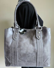 Frye Melissa Leather Tote Purse/ Handbag Db138 Ice
