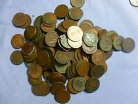 Half Roll 25 Indian Head Cents  JUnk Box Lot     #IHJL25