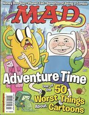 APRIL 2013 MAD MAGAZINE ALFRED E NEWMAN ADVENTURE TIME FINN HONEY BOO BOO ZOMBIE