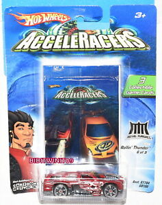 HOT WHEELS 2005 ACCELERACERS ROLLIN' THUNDER 6 OF 9 W+