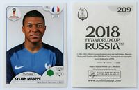 Panini WM 2018 - Sticker Kylian Mbappe # 209 - World Cup Rookie France RARE