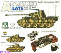 TAKOM 2099 Panther Ausf.A (SdKfz.171) Late Production [Full Interior Kit] 1/35