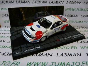 RIT17M voiture 1/43 IXO Altaya Rallye TOYOTA CELICA TURBO 4WD 1992 C.Sainz