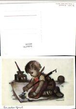 492120,Künstler AK Berta Hummel Kind b. Zeichen Tinte pub Josef Müller 5202
