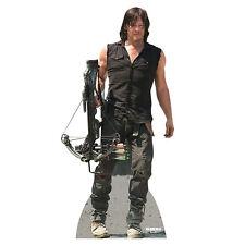 DARYL DIXON v4 Walking Dead Reedus Lifesize CARDBOARD CUTOUT Standee Standup