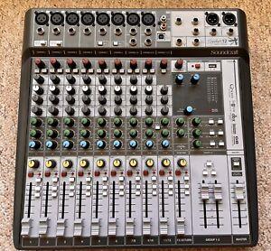 Soundcraft Signature 12MTK Analogue Mixing Desk - USB Interface And Digital FX