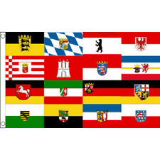 German Federal States Flag 5Ft X 3Ft Germany Cities City Banner With 2 Eyelets