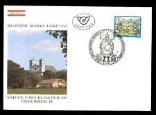 Austria 1987 7s Definitive Monasteries & Abbeys FDC #C2715