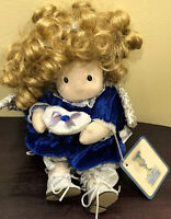 "Vintage Classic Treasures September Birthstone Angel Plush Doll 9"""