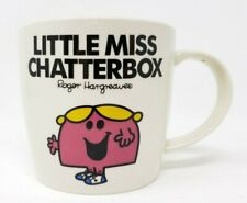 Little Miss Chatterbox Mr Men Coffee Mug Tea Cup Rodger Hargreaves