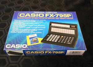 CASIO FX-795P Personal Computer - Boxed & Complete - Vintage CASIO FX-795P