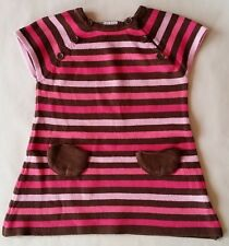 028460594606f Robe mailles rayé coloré bébé fille 9 MOIS ORCHESTRA