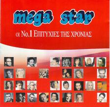Mega Star - Various / Greek Music 2 CD - 35 Best Songs Of 2001