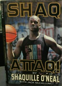 Autographed Shaquille O'Neal Signed Book Shaq Attaq! Autograph ONeal NBA AUTO