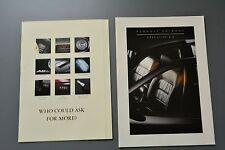 UK Sales Brochure Renault Safrane Executive 2.2