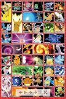 POKEMON ~  MOVES GRID~ 24x36 Poster ~ NEW/ROLLED!