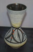 Scheurich Foreign FATLAVA 523-21 design Vase Keramik 50s 60s Vintage  WGP MCM