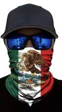 Mexican Flag Unisex Neck Gaiter Bandana Seamless Tube Scarf headwear Face Mask