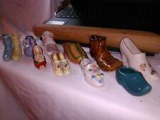 tiny miniature shoe collection