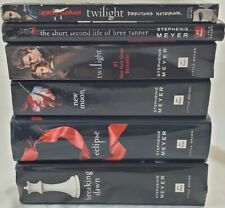 Twilight Saga Series 6 Book Set 5 by Stephenie Meyer & Bonus Directors Notebook