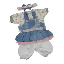 "Doll Clothes Outfit For 55cm 22"" 23"" Reborn Baby Doll Headband Pants Accessories"