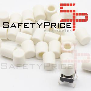 5x Tapon A56 tapa Pulsador Tactil Micro interruptor 6*6 BLANCO