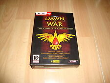 WARHAMMER 40,000 DAWN OF WAR THE COMPLETE COLLECTION PARA PC NUEVO A ESTRENAR