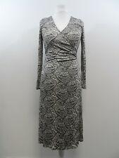 Pure Collection Paisley Print Wrap Dress Silk Large Ladies UK 16-18 Box42 64 I