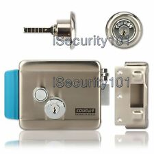 COUGAR Electric Lock NO Mode Fail Secure Stainless Steel for Video Door Phone