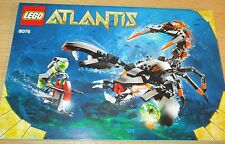 Lego Atlantis 8076 - Bauanleitung - Only Construction