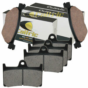 Volar Front Brake Pads for 2002 Yamaha Road Star Warrior XV1700