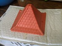 Playmobil 3666 Kings Medieval Knights CASTLE Square Tower Red Roof.