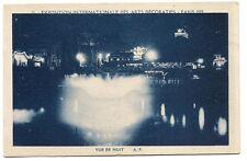 paris  exposition internationale des arts décoratifs 1925 vue de nuit