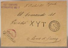 POSTA MILITARE 60^ DIVISIONE 453^ COMP. MITRAGLIATRICI 907 F  1.7.1917 #XP310