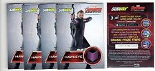 1X HAWKEYE 2015 Avengers Age Of Ultron Subway PROMO SAMPLE NMMT Lots Available