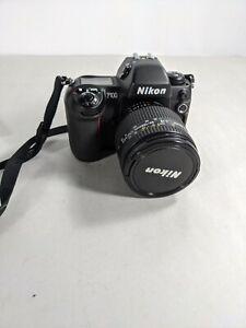 Nikon F100 35mm Film Camera - black W/24-120mm 1:3.5-5.6 lens and bag