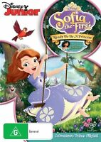 Sofia The First - Ready To Be A Princess (DVD, 2013) FREE POST