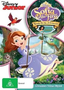 Sofia The First - Ready To Be A Princess (DVD, 2013) tax205