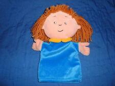 "Caillou Plush ROSIE Hand Puppet 9"" 1999 Cinar"