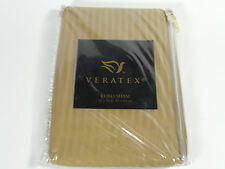 "New Veratex Arabesque European Euro Pillow Sham Natural Queen King Bed 26""X26"""